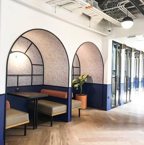 Typical nook: Salas de estilo ecléctico por D Interior