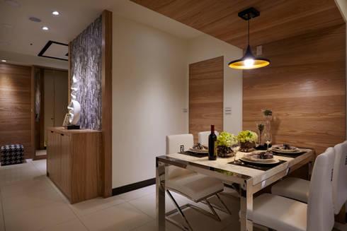 讓用餐環境更加愉悅輕鬆:  飯店 by 雅和室內設計