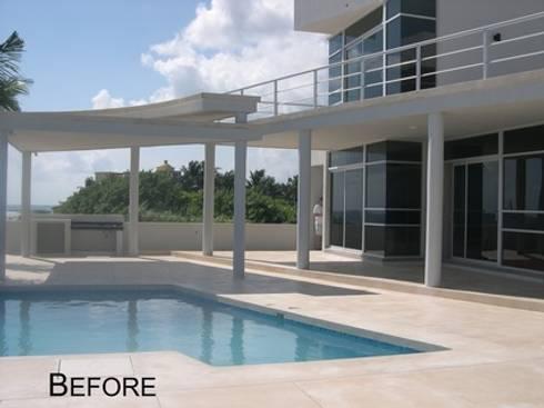 Modern Beachfront Masterpiece Estate  (2013):   by James Grey Interiors