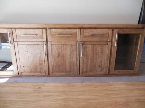 Rubberwood sideboard/server: classic Dining room by MELLOWOOD Furniture