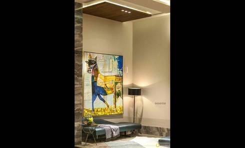 Farmhouse in Kundli - Lighting: modern Bathroom by Jainsons Emporio