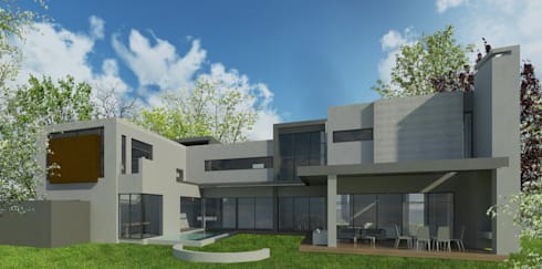 Single family home by AVR Architects