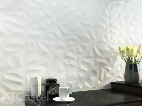 Pasta blanca Chelsea Decor / Castel: Edificios de Oficinas de estilo  por Skyfloor