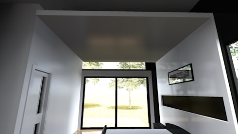 modern Study/office by Dakota Austral