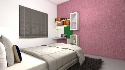 Interiors: modern Nursery/kid's room by Kruthi Interiors