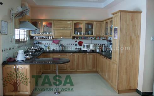 Modular Kitchen: modern Kitchen by TASA interior designer
