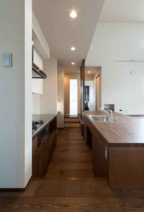 廚房 by (有)中尾英己建築設計事務所