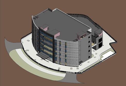 BIM Architectural Modeling:   by AutoCAD Drafting India