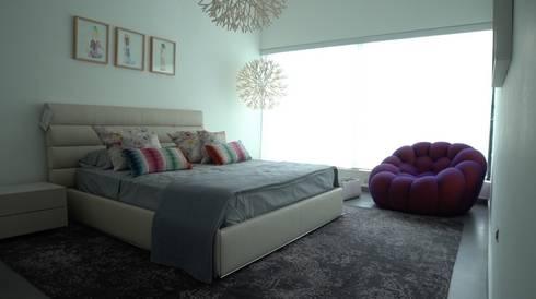 Cama Cierre: Dormitorios de estilo  por Spazio di Casa Venezuela