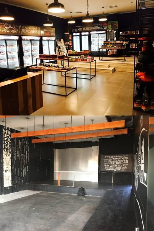 Remodelación tienda:  de estilo  por Constructora ANyG