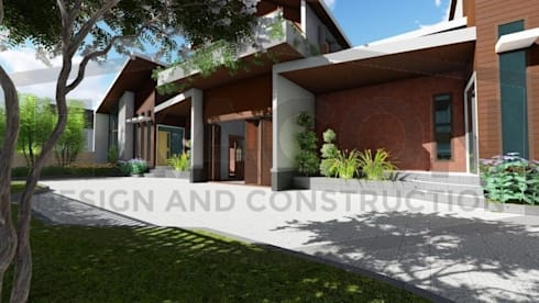 Proyek Rumah Minimalis Modern Bapak Rafa - Depok 8 EXACON:   by Exacon Multi Rekayasa