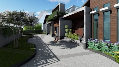 Proyek II Rumah Minimalis Modern Bapak Rafa - Depok 6 EXACON:   by Exacon Multi Rekayasa