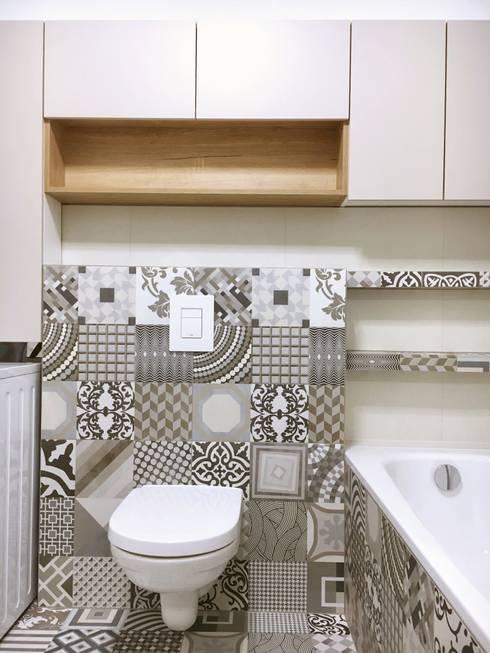 Badplanung KN2: moderne Badezimmer von KHG Raumdesign