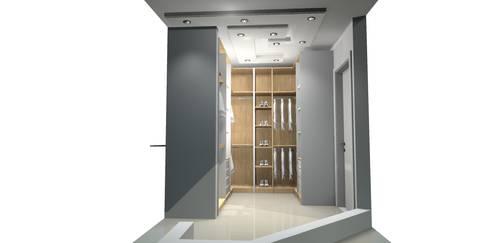 CLOSETS: Closets de estilo  por Francis estilo