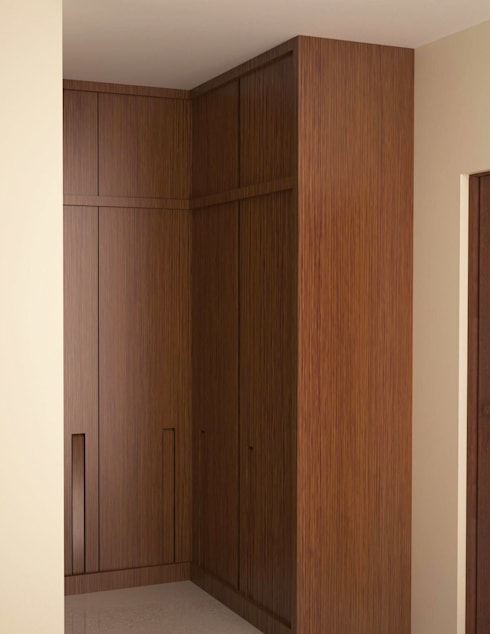 Full height wardrobe unit : classic Dressing room by NVT Quality Build solution