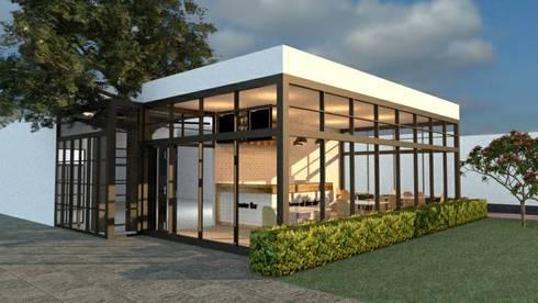 ออกแบบร้านกาแฟ ให้ลูกค้า:  ตกแต่งภายใน by mayartstyle