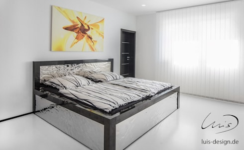minimalistic Bedroom by Luis Design