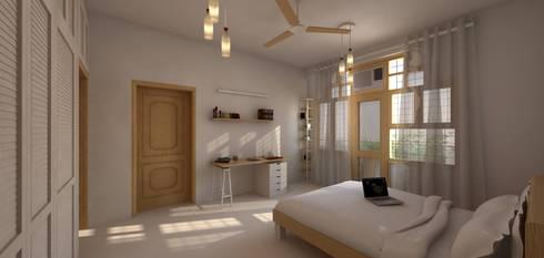 Gupta Residence, Delhi: classic Bathroom by Studio Square