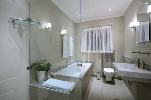 Renovations to Gardenview Guest House: modern Bathroom by The Matrix Urban Designers and Architects
