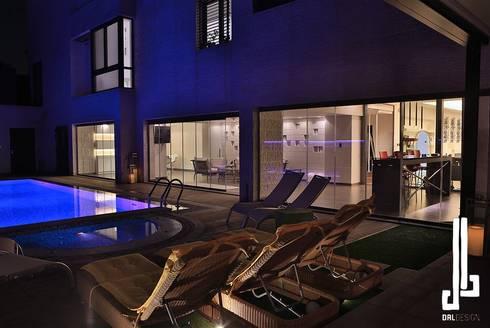 Nassars Private Villa:  Garden Pool by dal design office