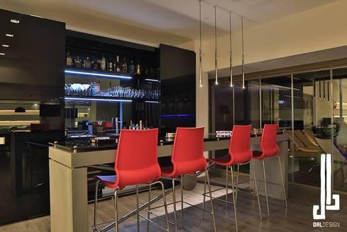 Nassars Private Villa: modern Wine cellar by dal design office