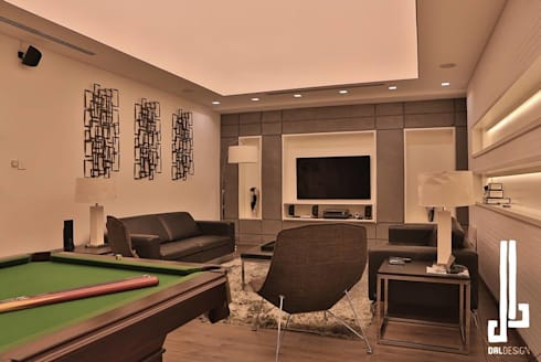 Nassars Private Villa: modern Living room by dal design office