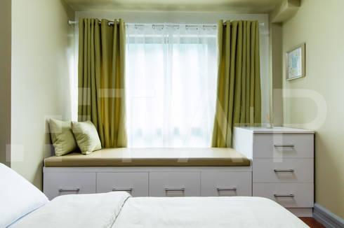 1314 Forbeswood BGC: modern Bedroom by TA+P Design Lab