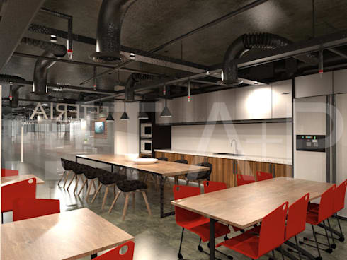 4201 Agile Workspace Office:   by TA+P Design Lab