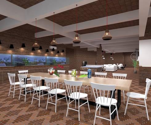 Dining Room:   by FIANO INTERIOR