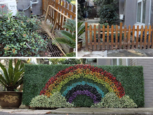 """rainbow"" design by SUNWING artificial plants:  Garden  by Sunwing Industrial Co., Ltd."