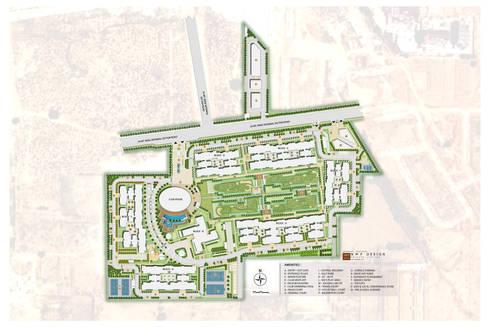 Site plan: modern Garden by NMP Design