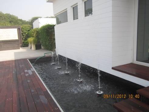 Ireo Sky-On: A Hi-Tech Housing project, Gurgaon, Haryana, India: modern Pool by NMP Design