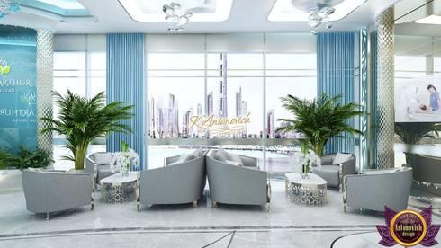 Office design concepts by Katrina Antonovich: modern Study/office by Luxury Antonovich Design