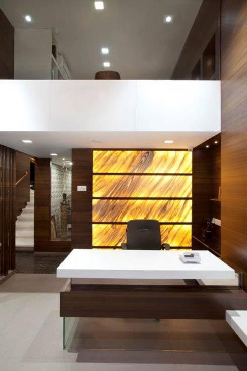 Interior : modern Study/office by Skaav Luxury Interiors