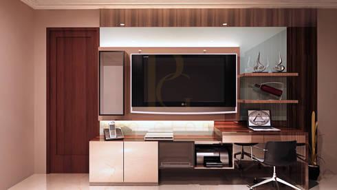 Credenza TV:  Bedroom by Pro Global Interior