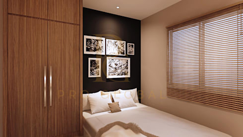 Master Bedroom:   by Pro Global Interior