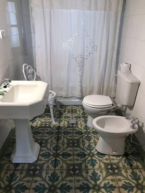 RENOVACION BAÑO: Baños de estilo rural por ESTUDIO WÄRME