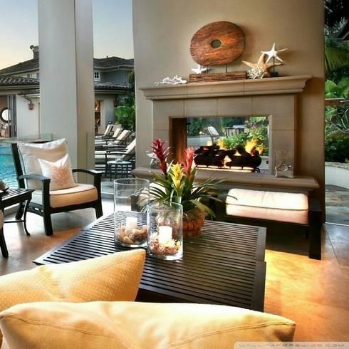 Interior : Salas de estilo moderno por MARCELA PATIÑO INTERIORISMO