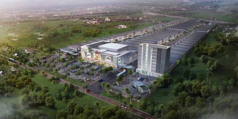 Perencanaan dan Design Komplek Pergudangan Sriwijaya Palembang:   by Roemah Cantik