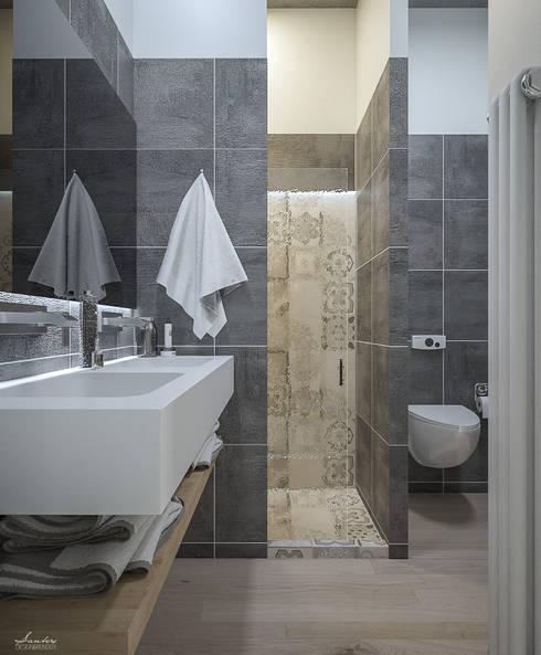 حمام تنفيذ Santoro Design Render