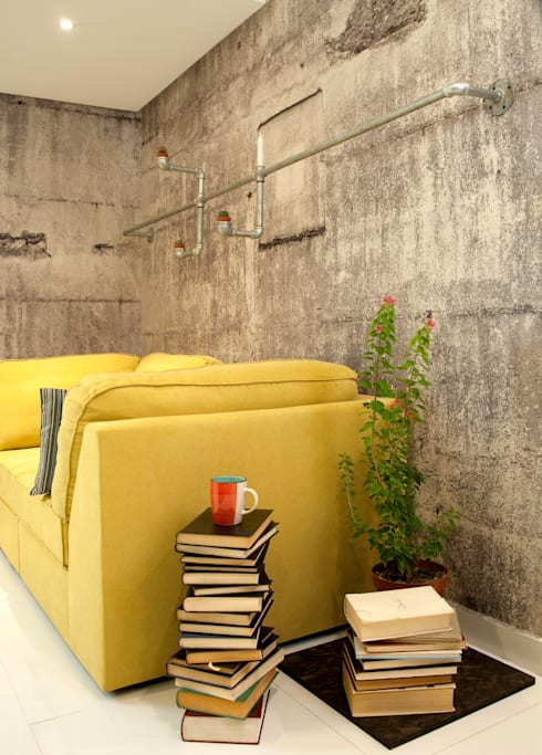 Industrial Living room :  Household by Aorta the heart of art