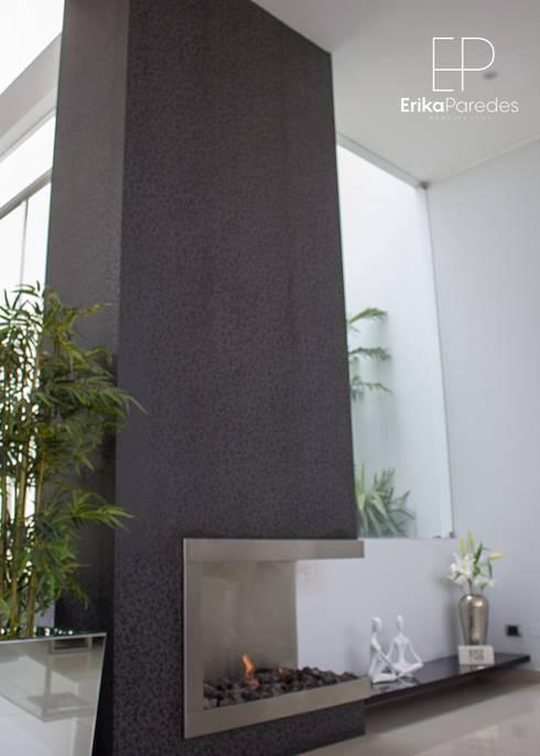 Chimenea: Anexos de estilo moderno por EPG  Studio