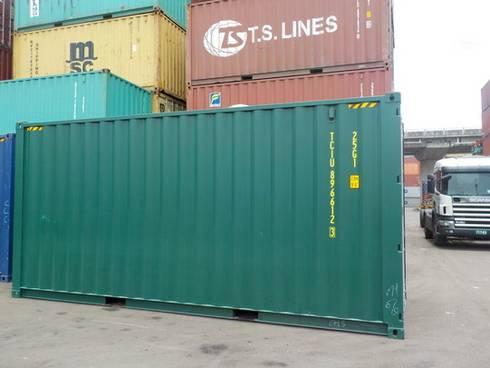 2017年全新20呎貨櫃(9'6):  活動場地 by CHS Container Taiwan Branch