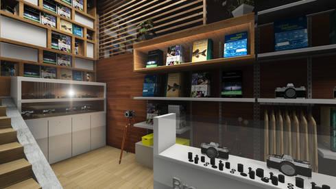 Drew & Berry Area:  Kantor & toko by ARAT Design