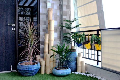 Bamboo Topography: modern Garden by Grecor
