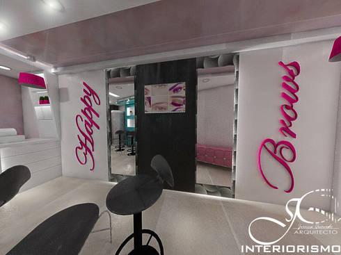 Diseño interior comercial : Tiendas y espacios comerciales de estilo  por MAHO arquitectura y diseño, C.A