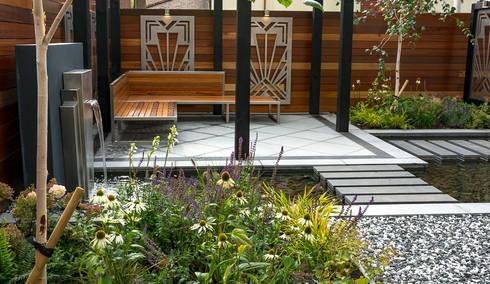 Art deco garden door robert hughes garden design homify