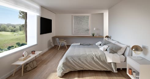 modern Bedroom by Graph Arquitectura