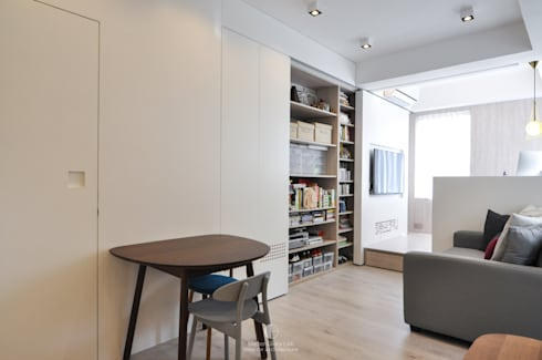 3: minimalistic Living room by Mister Glory Ltd