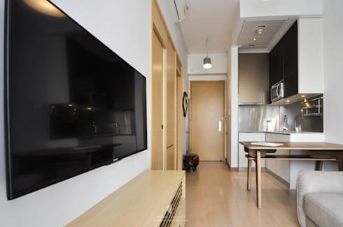 4: minimalistic Living room by Mister Glory Ltd